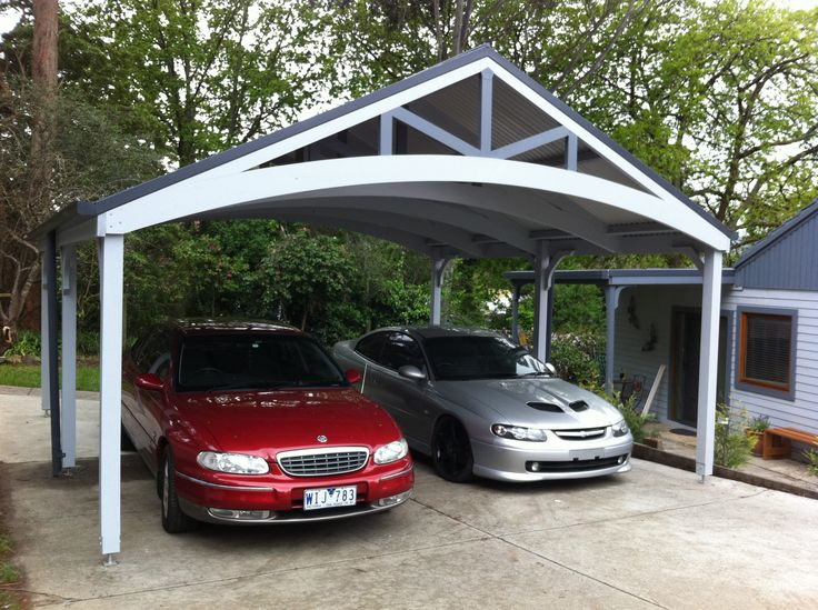 25 best ideas about wood carport kits on pinterest for 4 car carport plans