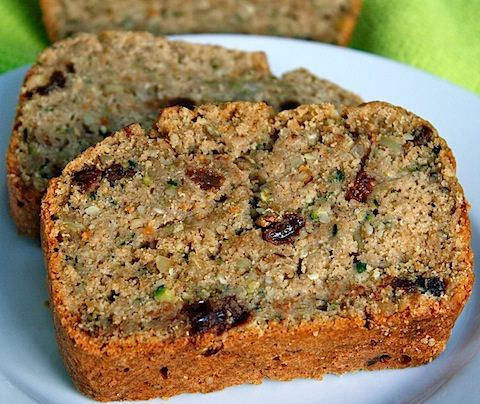 Chocolate Chip Zuchinni Bread- maybe substitute applesauce for the oil