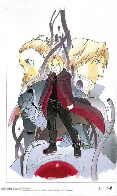 Hiromu Arakawa, Fullmetal Alchemist, Alphonse Elric, Edward Elric, Claudio