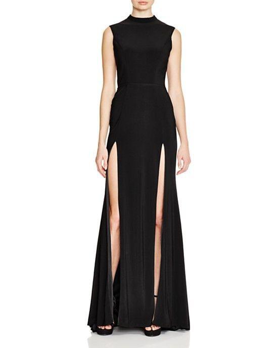 IEENA for Mac Duggal Double Slit Dress (Size 10) #IEENAMacDuggal #Cocktail