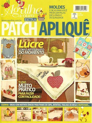 agulha de ouro patch aplique - Jozinha Patch - Álbumes web de Picasa