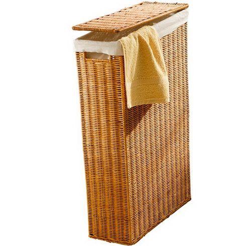 4 Narrow Basket Bathroom Laundry Baskets Small Bathroom