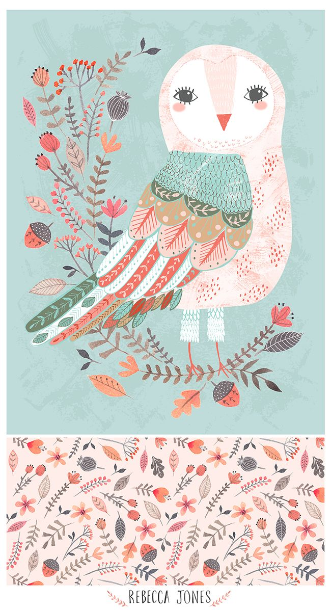 Rebecca Jones Forest Owl