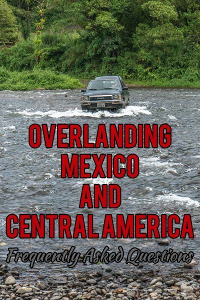 Want to know what it's really like to drive through Mexico and all of Central America? I'm asking the most frequently asked questions here... Including many of the questions I've received from my readers -- that's you guys!