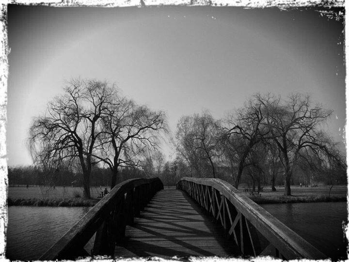 Bridge the distance .. A vekeri tó hídja, kicsit másképp.
