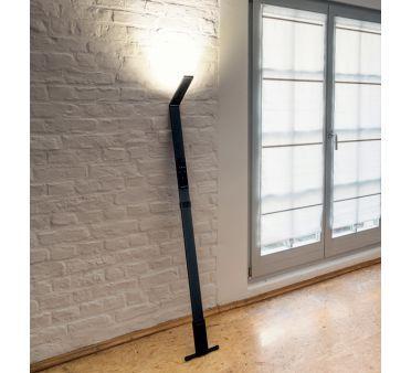 Lampadaire LED Noir Flex Dimmable et Nomade