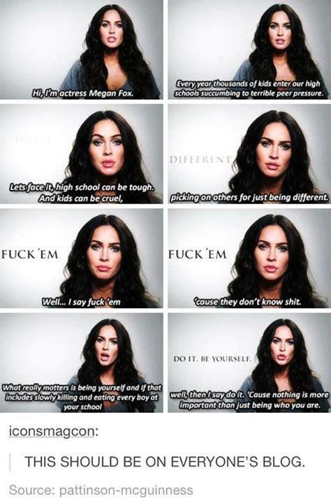 I'm not really a huge fan of Megan Fox but this is extremely cool of her.