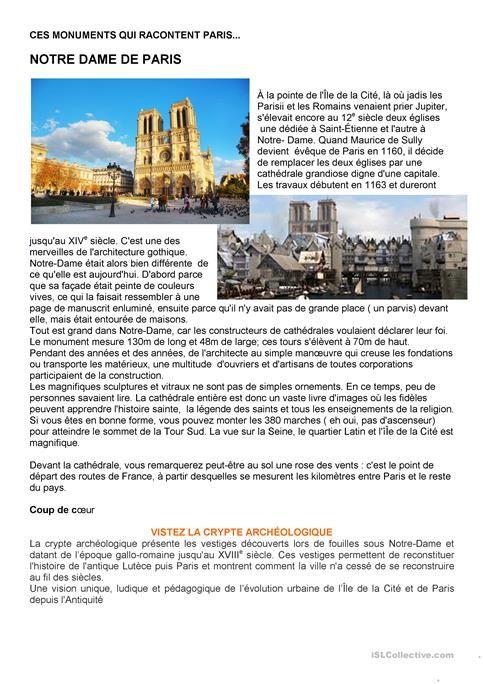 Ces monuments qui racontent Paris - Notre-Dame