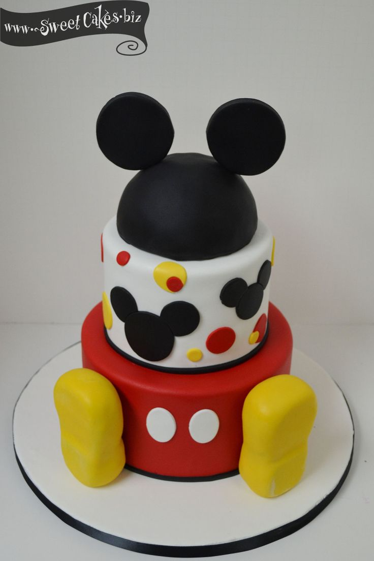 Mickey Mouse Boy Birthday Cakes