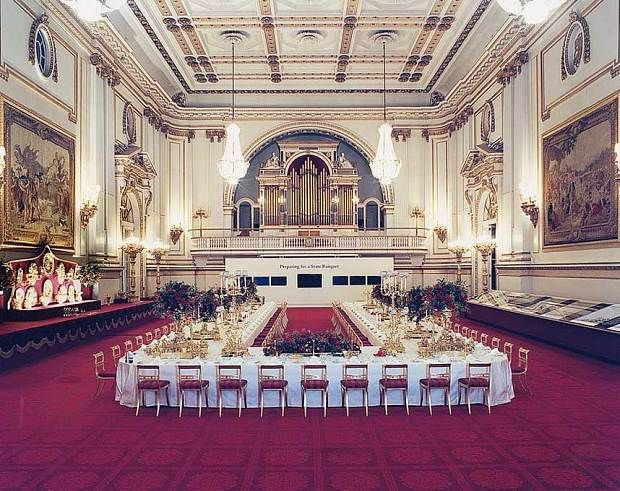 Click the link and there's a 360 interactive view of the Buckingham Palace Ballroom!