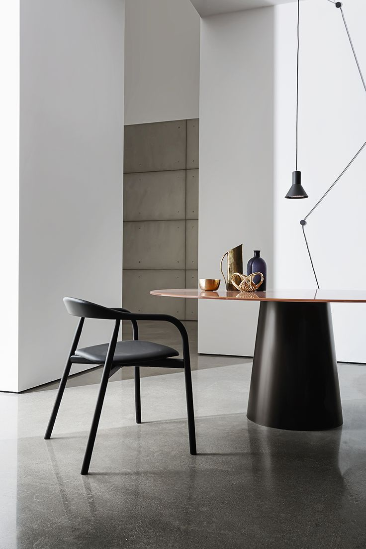 Live your spaces with Totem table and Autumn chair. A beautiful combination between the elegance of glass and the harmonious shapes of wood. Thanks to the minimal design this combination perfectly fits in home&contract spaces http://www.sovet.com/en/tables/totem  #interior #home #decor #sovet #sovetitalia #architecture