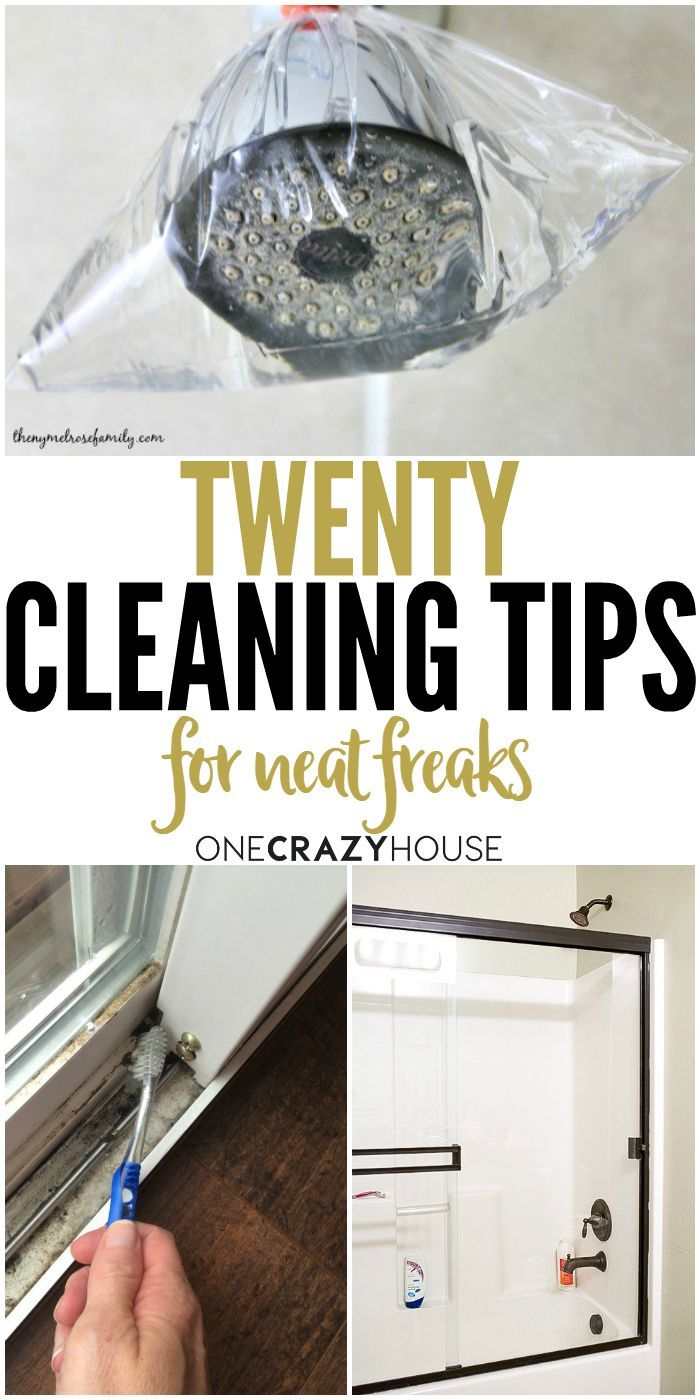 20 Cleaning tips perfect for all the neat freaks around the world.