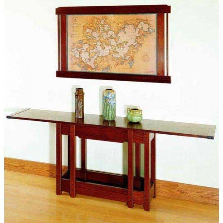 Greene Serving Table Downloadable Plan