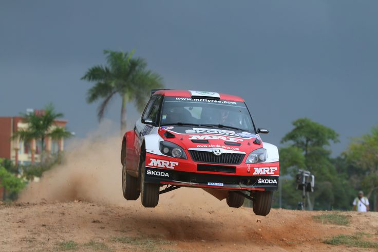 2014 APRC Champion Jan Kopecky at Malaysian Rally - the only event he had an DNF.