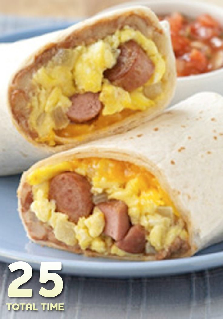 These Vienna Sausage Burritos are great for when you're in the mood for breakfast for dinner—ready in just 25 minutes!