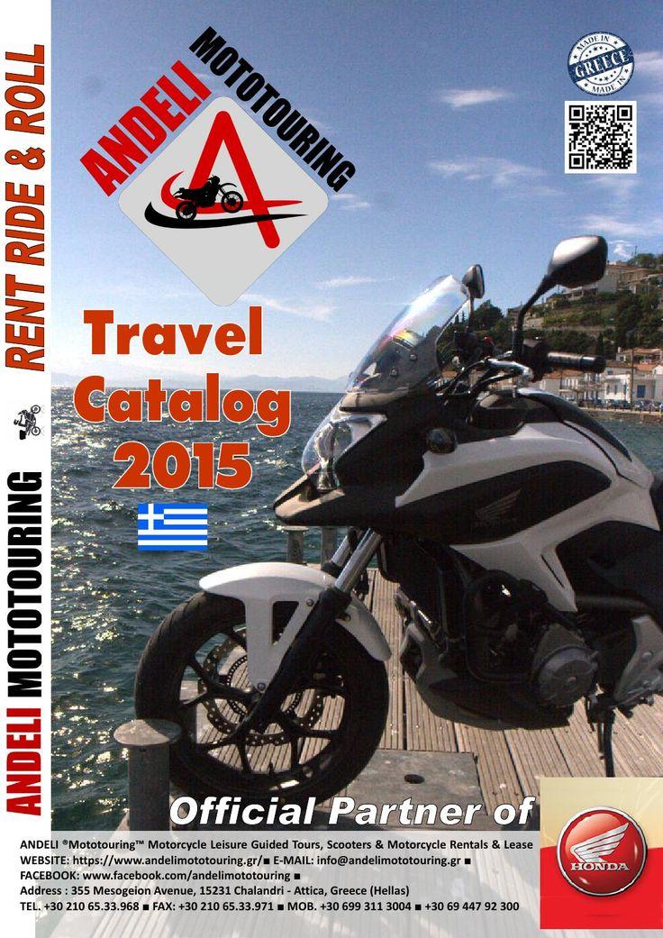 ANDELI ® Mototouring™ Travel Catalog 2015 GR