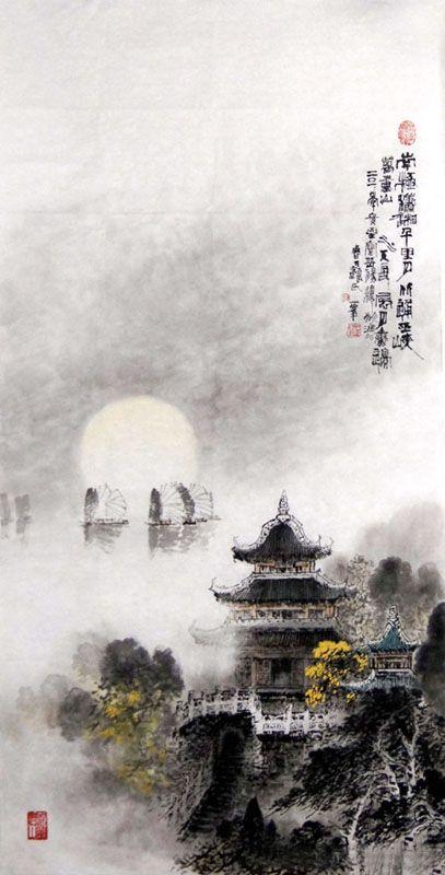 by Yan Yi Feng -- Chinese painting