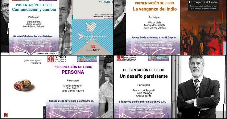 FCE Perú presenta sus nuevos títulos en la FIL Ricardo Palma