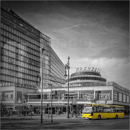 Melanie Viola - BERLIN City West  #wandbild #wohnen #kaufen #Fotografie #Sehenswürdigkeiten #Ort #Wahrzeichen  #Architektur #Fotografien #Reise #Europa #Stadt #Deutschland #Berlin #Kurfürstendamm #Straßenszene #Bus #Verkehr #home #decor #shopping #wallart #prints #photography #sights #landmarks #city #cityscape #architecture #travelling #shopping #skyline #traffic #Germany #Europe #city #street #streetscene