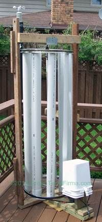 DIY VAWT wind generator