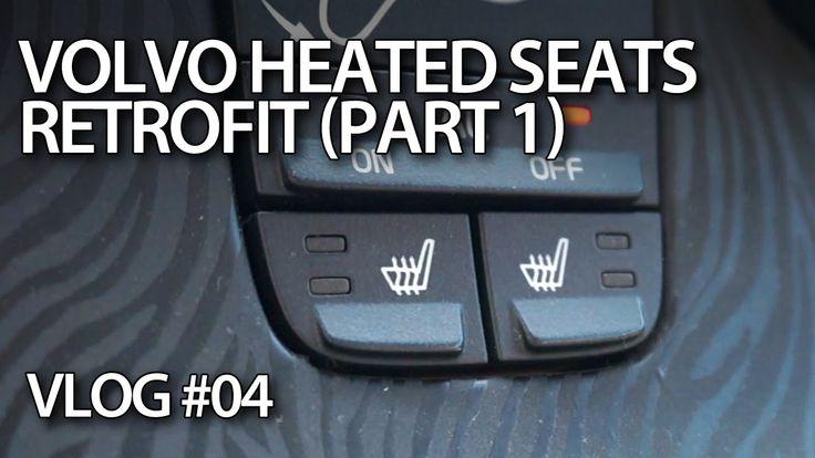 Retrofitting heated seats in #Volvo #C30 #S40 #V50 #C70, part 1 - mr-fix #VLOG E04