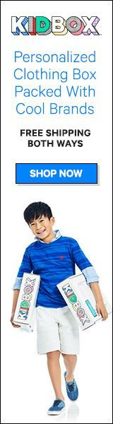 AD #Kidbox is a #personalized clothing box packed with cool brands, meaningful savings & a mission to clothe children in need! Get Free Shipping both ways and only keep what they love. Click here now! Kidbox is a personalized clothing box packed with cool brands, meaningful savings & a mission to clothe children in need! Get Free Shipping both ways and only keep what they love.