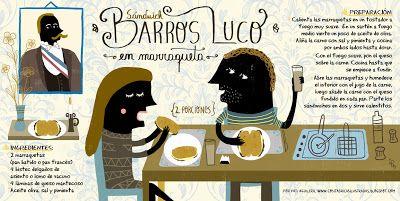 Cositas Ricas Ilustradas por Pati Aguilera: Sándwich Barros Luco