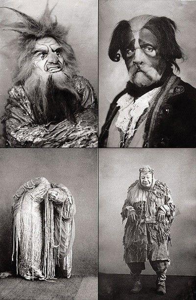 Vintage Halloween photographs. Kinda seem creepier than what we have now.