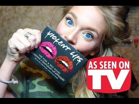 VIOLENT LIPS- DOES THIS THING REALLY WORK? This girl is funny. At first i thought she was annoying but I cant stop watching her videos!