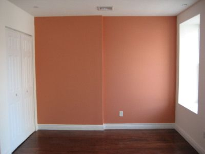 Coral Accent Wall for Bedroom