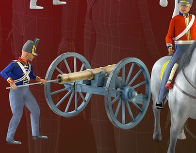 """Check out new work on my @Behance portfolio: """"Waterloo Soldiers"""" http://on.be.net/1BHLV0q"""