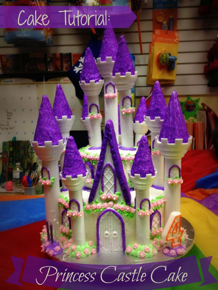 My proudest moment! Cake Tutorial: Princess Castle Cake using @Wilton Cake Decorating Romantic Castle Cake from @Michaels Store
