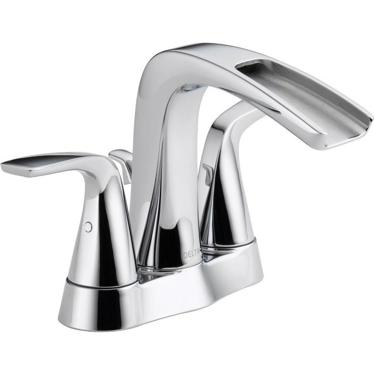 Delta Tolva 4 In Centerset 2 Handle Bathroom Faucet In Chrome Home The O 39 Jays And Home Depot