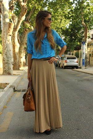 大人コーデの参考に。素敵な40代の着こなし術♡アラフォー ロンスカおすすめコーデ参考です。