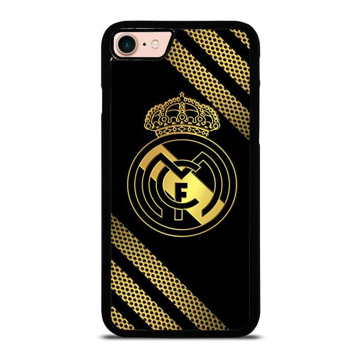 REAL MADRID GOLD NEW iPhone 8 Case - Best Custom Phone Cover Cool Personalized Design – Favocase