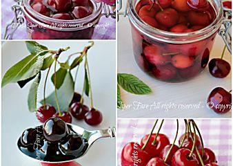 Come conservare le ciliegie e le amarene in modo facile e sicuro
