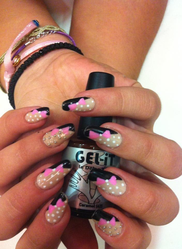Nails by Anna @ Studio M with GEL.iT UV LED Soak off Gel Polish