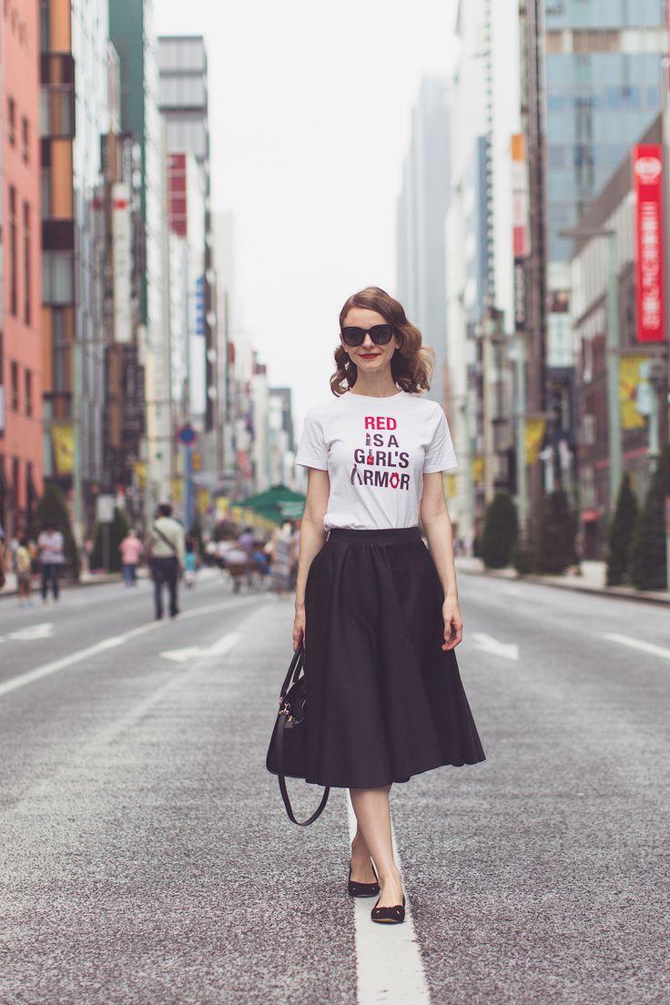 ginza, tokyo, shopping in tokyo, shopping in ginza, asos, asos skirt, gu, uniqlo, gu t-shirt, michael kors, michael kors bag, eyewear, sunglasses, marc jacobs sunglasses, kurt geiger shoes