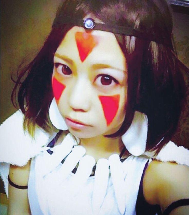 #しほんぬハロウィン  2015年の一発目 大好きジブリシリーズ #サン になった 山そだちが共通点  おでこがにじんでるのはご愛嬌ね 極めてまたやりたいなー まさかの#シシ神様 候補あらわれた笑  #Halloween#ootd#outfit#me#cosplay#cosplayer#japanese#girl#cosplaygirl#animecosplay#princessmononoke#san#ghibli#anime#ハロウィン#ハロウィンパーティー#仮装#ハロウィン仮装#コスプレ#ジブリ#ジブリシリーズ#もののけ姫#サン#生きろ#そなたは美しい