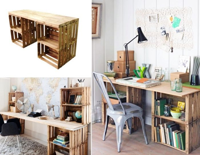 ▷ 8 + idées pour fabriquer un bureau esthétique et fonctionnel