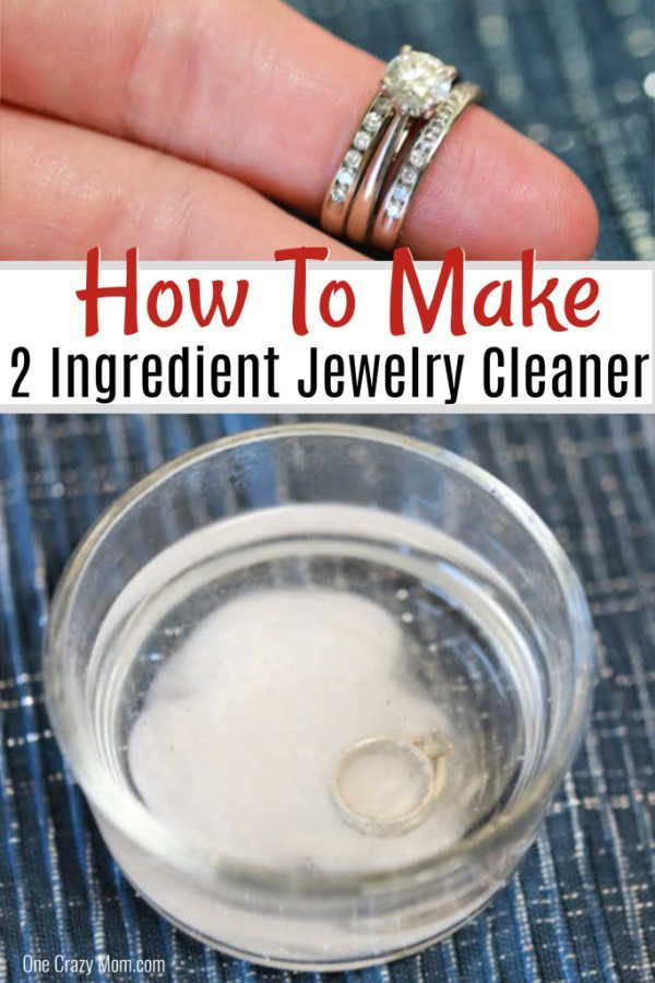 Awesome Incredibly Learn How To Make Homemade Jewelry Cleaner With Just 2 Simple Ingre Homemade Jewelry Cleaner Natural Jewelry Cleaner Cleaning Silver Jewelry
