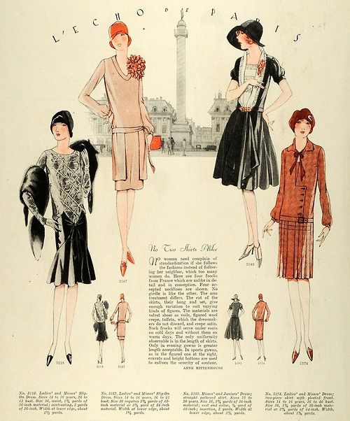 French fashion designers 1920s dresses
