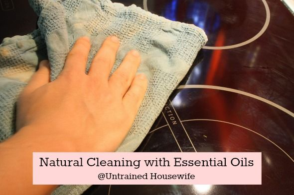 Natural cleaning with essential oils.