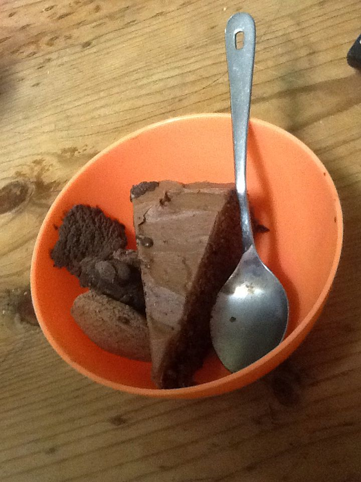 Chocolate Devils foods cake
