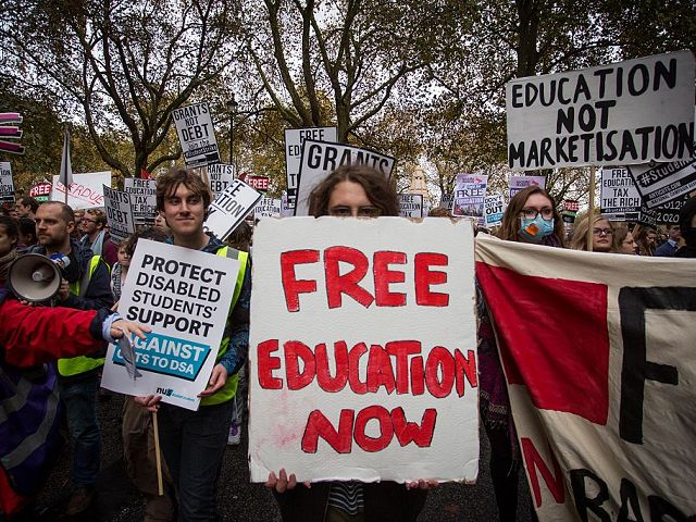 UK University offers free degrees for migrants - education getty