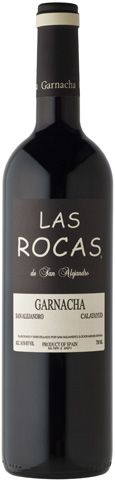 Las Rocas Garnacha has a high alcohol content and lots of oak.