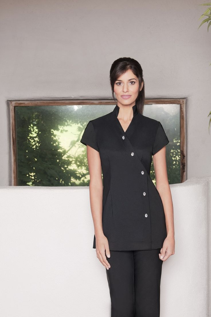 Pearl Spa Tunic – The Good Looking Workwear! A beauty professional must be able to reflect her suave set of skills and elegant personality. The Pearl spa therapist uniform is one such design from our exclusive collection that lets a spa professional perform  her best and look her best. The Pearl spa tunic is made of soft Bi stretch Polyester fabric which fits like second skin. Available in Pink, Purple and Black color variations , the Pearl is a beautiful piece that works as hard as it…