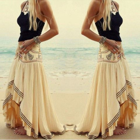 [ $21.00 ] Fashion irregular beach skirt  B065818