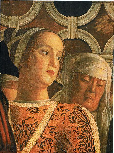 Andrea Mantegna - Barbara Gonzaga