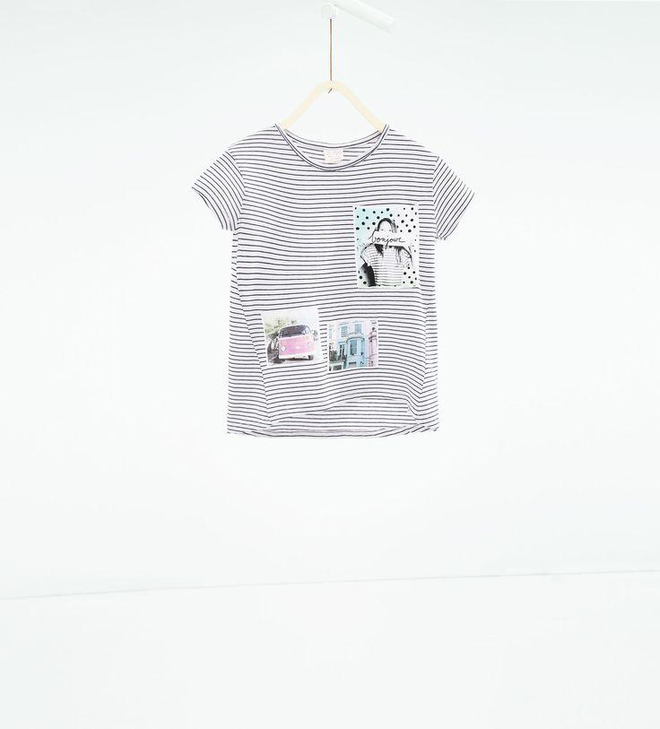T - shirt à poche - Tout Afficher - T - SHIRTS - FILLES | 4 - 14ans - ENFANTS | ZARA France